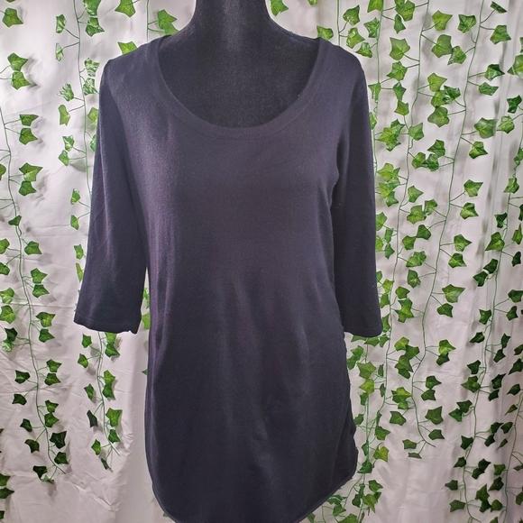 Soft Black Sweater Top